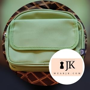 Expandable Tote Light Green w/Multiple Pockets